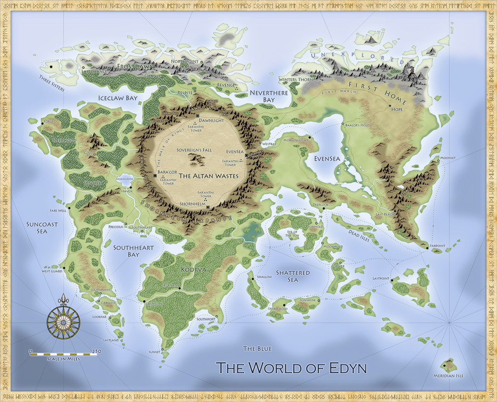 How To Create A Fictional World Map.Map Commission The World Of Edyn Maps And More
