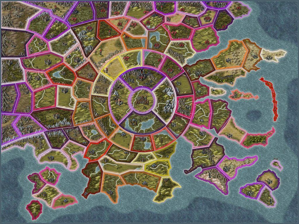 Zodiac Legion Map